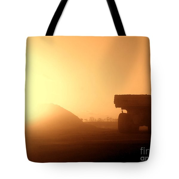 Sunset Truck Tote Bag