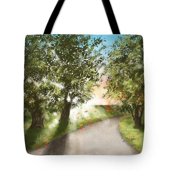Sunset Tote Bag by Veronica Minozzi