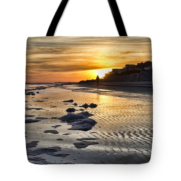 Sunset Wild Dunes Beach South Carolina Tote Bag