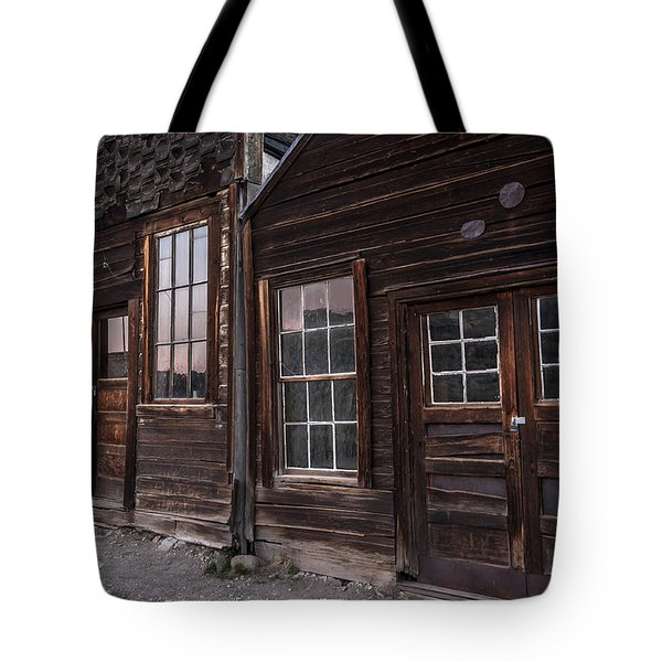 Sunset Window Reflections Tote Bag