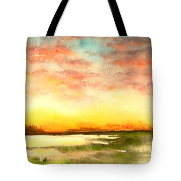 Sunset Tote Bag by Yoshiko Mishina