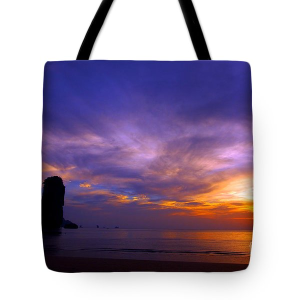 Sunsets And Beaches Tote Bag by Kaleidoscopik Photography