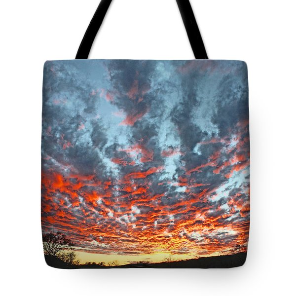 Sunset Colorado Country Style Tote Bag