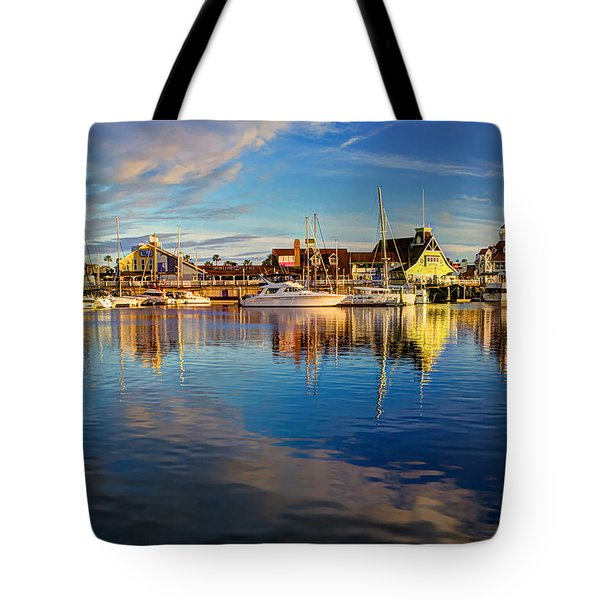 Sunset's Golden Light Tote Bag by Heidi Smith