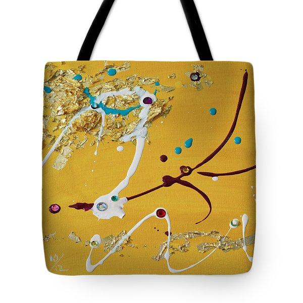 Sunshine And Rain Tote Bag by Donna Blackhall