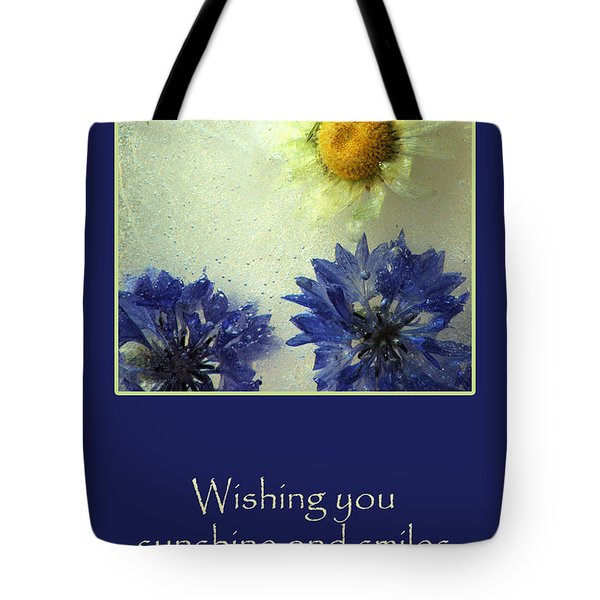 Tote Bag featuring the photograph Sunshine And Smiles by Randi Grace Nilsberg