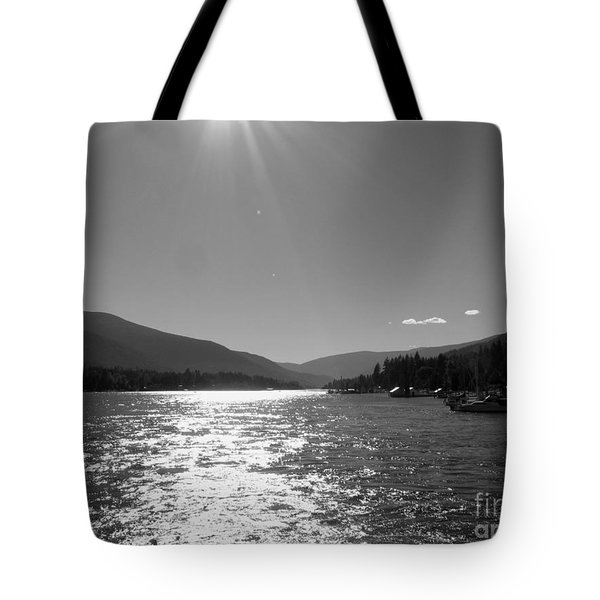 Sunshine Beams Tote Bag by Leone Lund