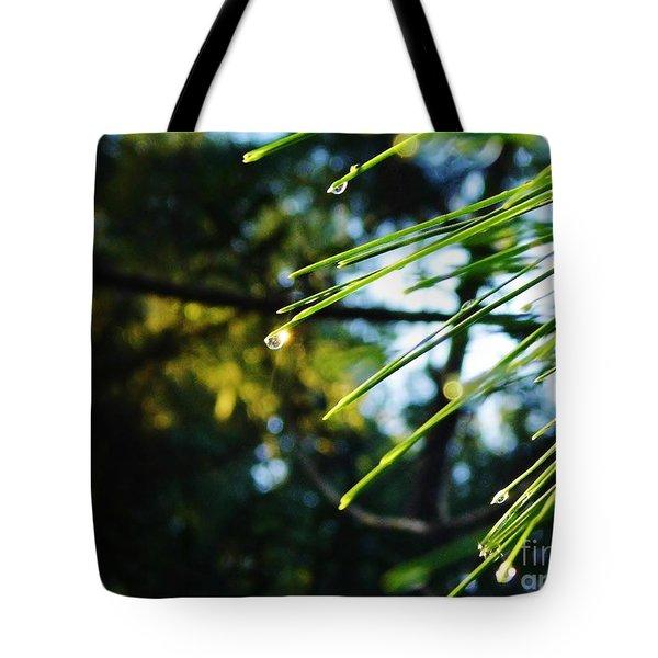 Sunshine Dewdrop Tote Bag