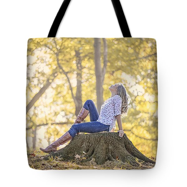 Sunshine Ecstasy Tote Bag