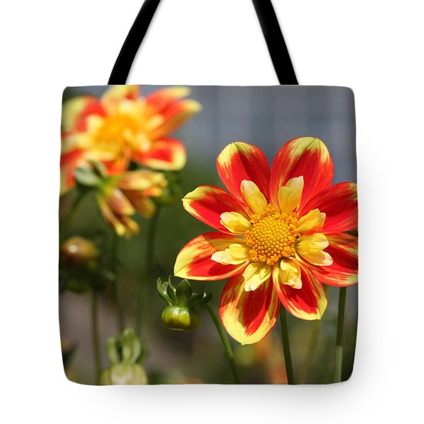 Sunshine Flower Tote Bag