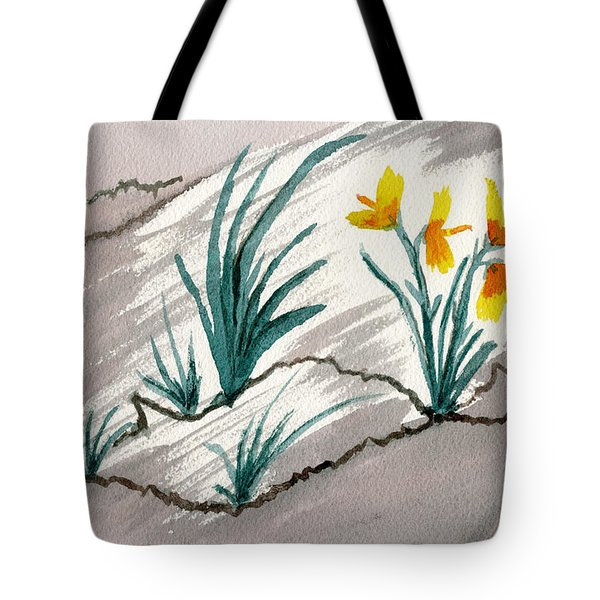 Sunshine From Darkness Tote Bag