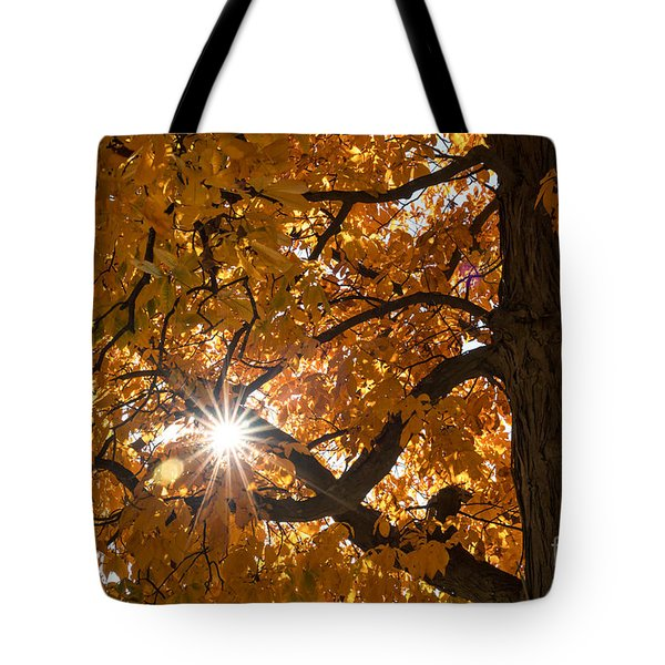 Sunshine Gold Tote Bag