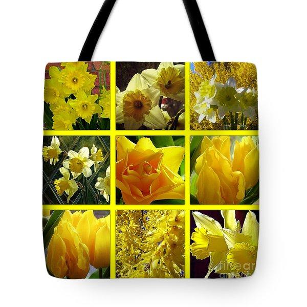 Sunshine Gold Picture Window Tote Bag
