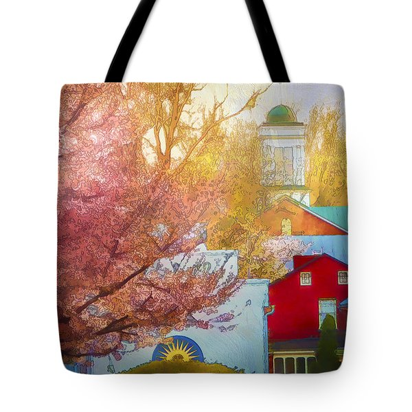 Sunshine In Springtime Tote Bag