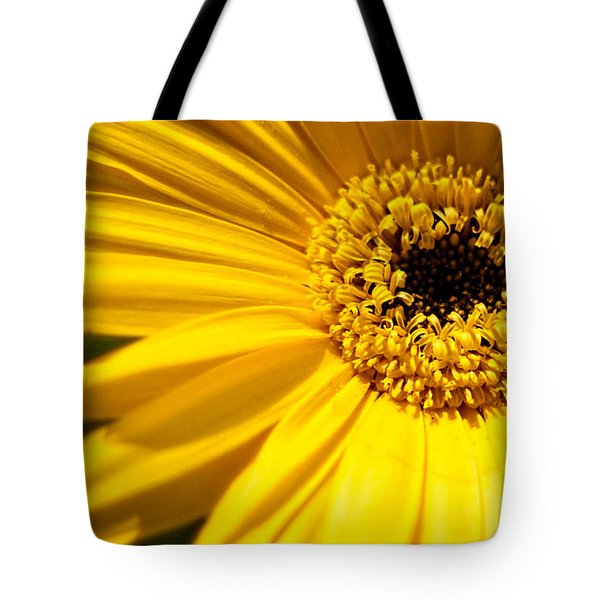 Sunshine Is A Gerbera Daisy Tote Bag by Theresa Johnson