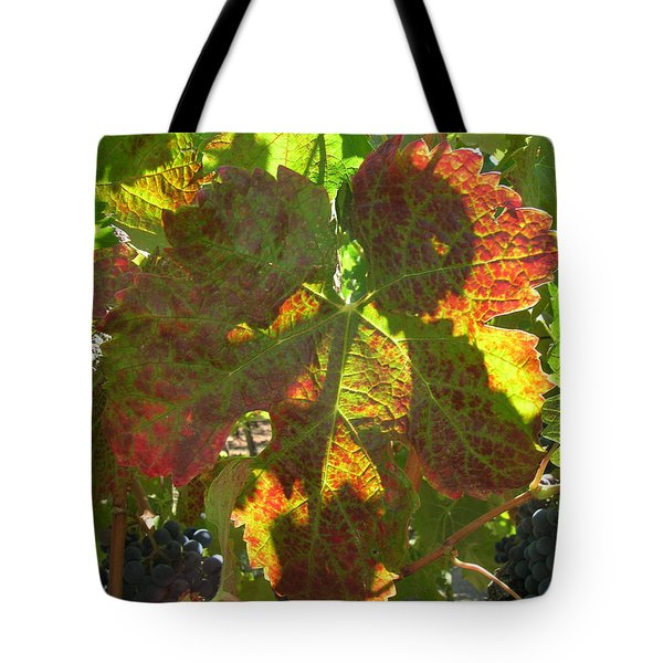 Sunshine On The Vine Tote Bag