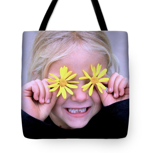 Sunshine Smile Tote Bag