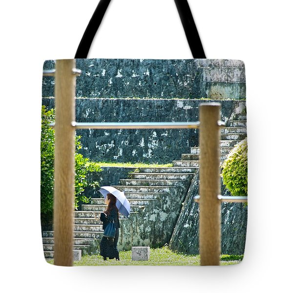 Sunshine Stroll Tote Bag