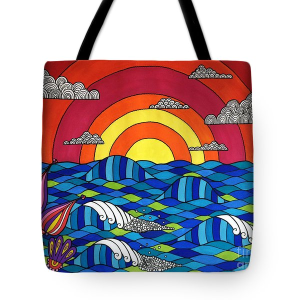 Sunshine Through My Window Tote Bag by Susan Claire
