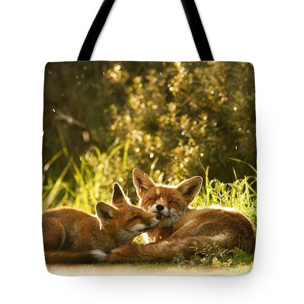Sunshower Tote Bag
