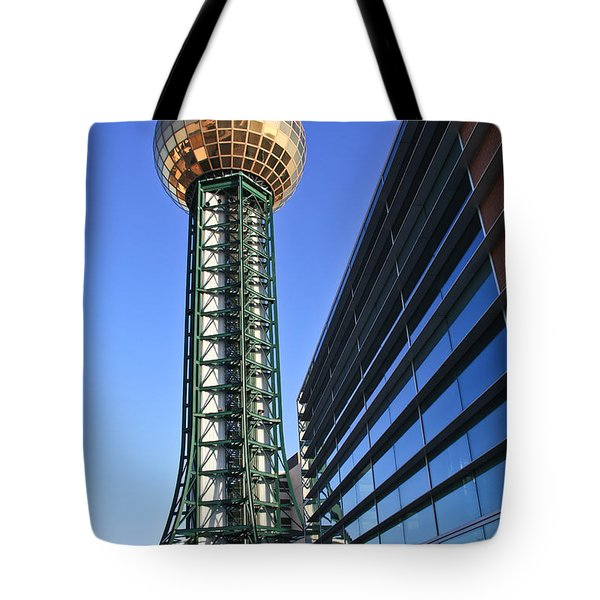 Sunsphere And Conference Center Tote Bag