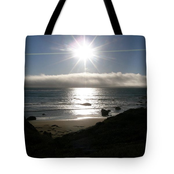 Tote Bag featuring the photograph Sunstar by Bev Conover