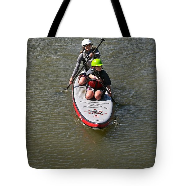 Sup Team Tote Bag by Britt Runyon