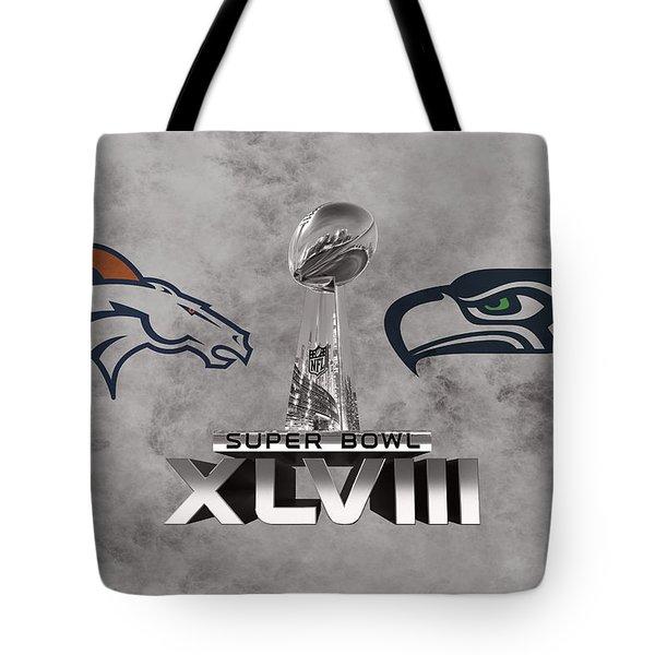 Super Bowl Xlvlll Tote Bag