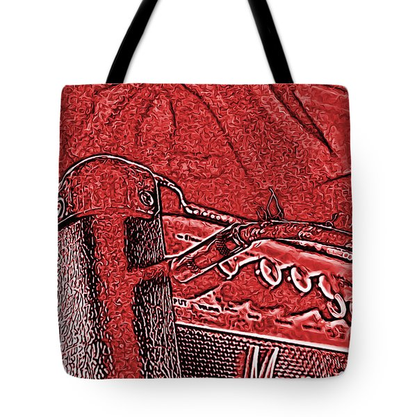 Super Grainy Marshall Tote Bag