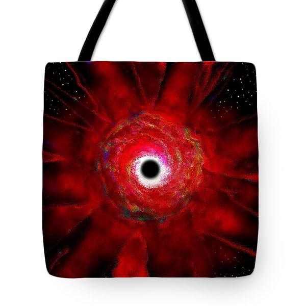 Super Massive Black Hole Tote Bag by David Lee Thompson