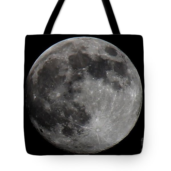 Super Moon 2014 Tote Bag