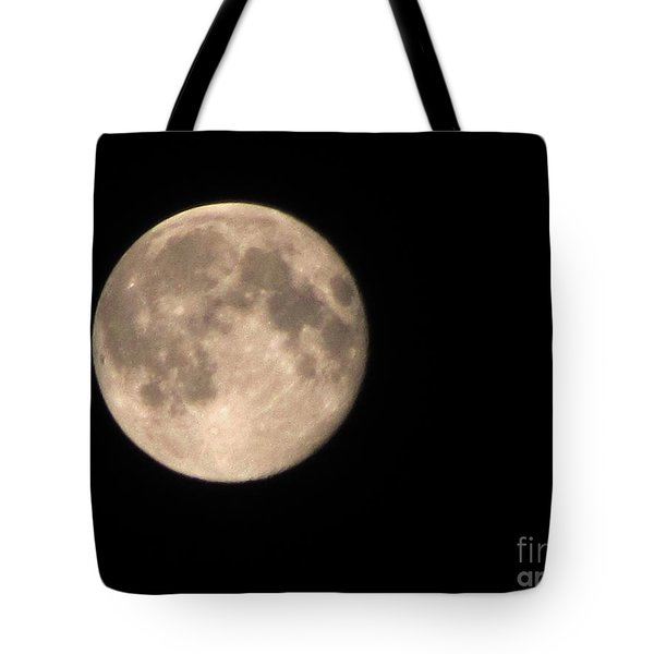 Tote Bag featuring the photograph Super Moon by David Millenheft