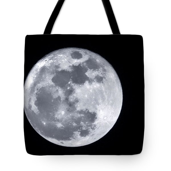 Super Moon Over Arizona  Tote Bag