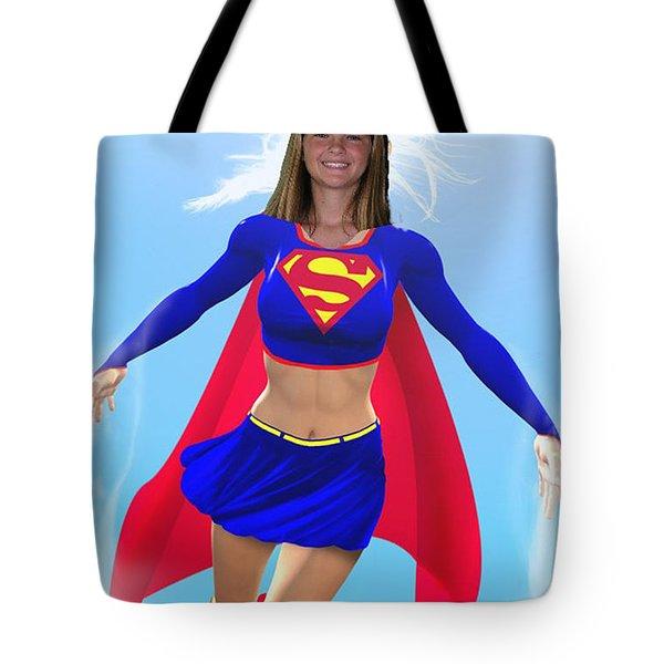 Super Nina Tote Bag by Allan  Hughes