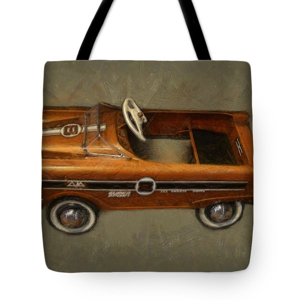Super Sport Pedal Car Tote Bag