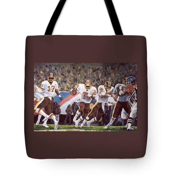 Superbowl Xii Tote Bag