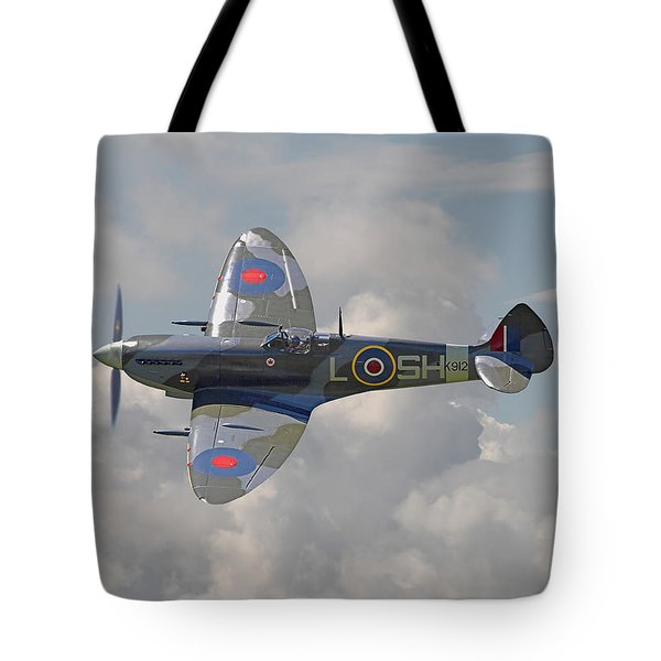 Supermarine Spitfire Tote Bag by Pat Speirs