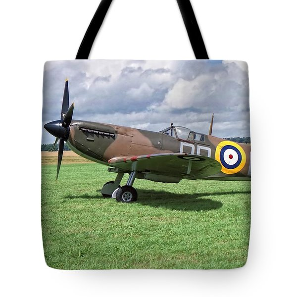 Supermarine Spitifire 1a Tote Bag
