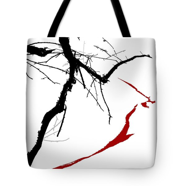 Tote Bag featuring the digital art Supernatural by Ken Walker