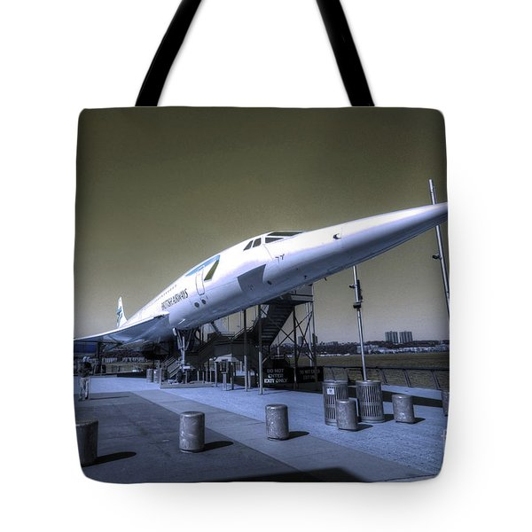 Supersonic  Tote Bag by Rob Hawkins