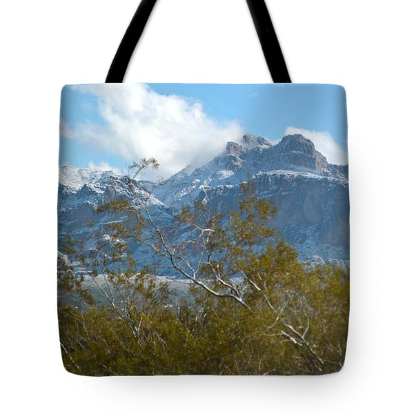 Superstition New Years Day Tote Bag by Pamela Walrath