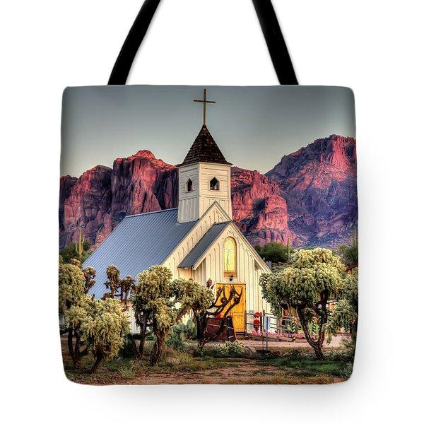Superstitious Faith Tote Bag