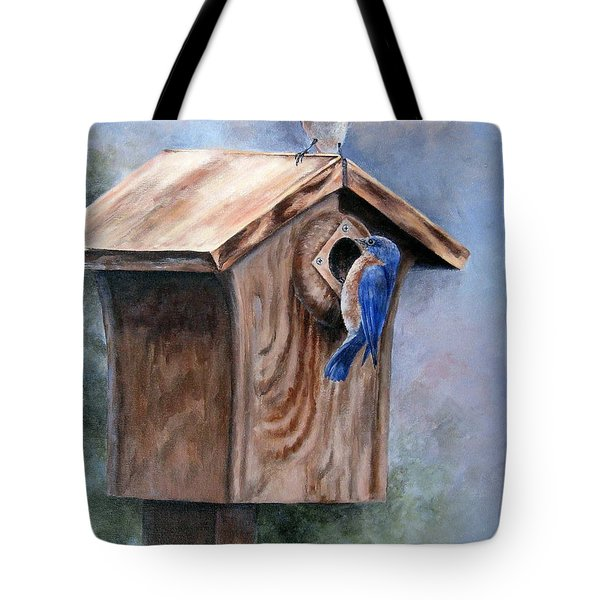 Supervised Feeding Tote Bag by Mary McCullah