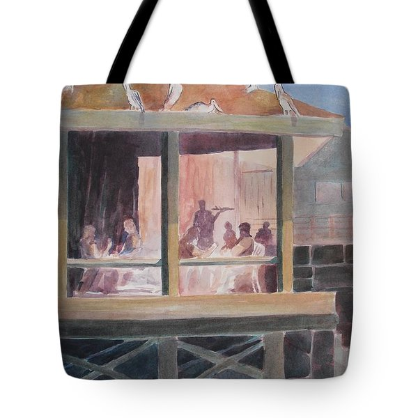 Supper Time Tote Bag by John  Svenson