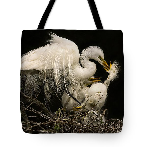 Suppertime Tote Bag by Priscilla Burgers