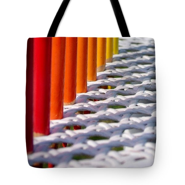 Tote Bag featuring the photograph Supplies by Elizabeth Sullivan