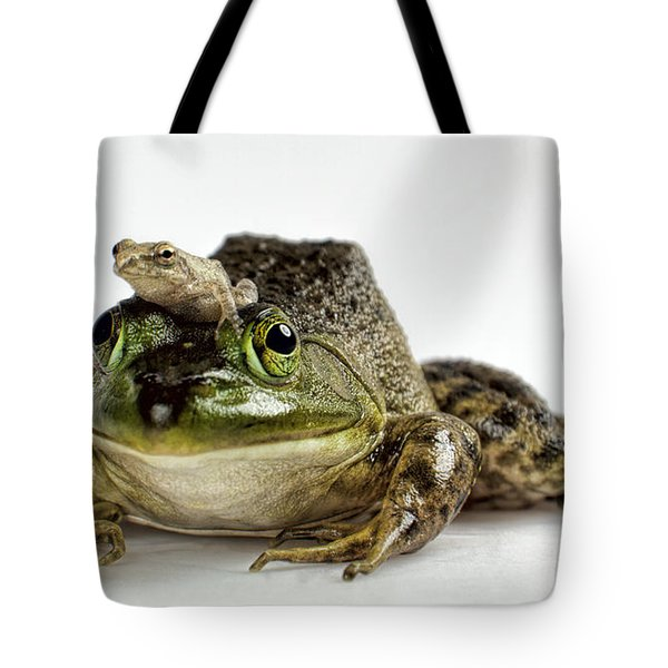 Tote Bag featuring the photograph Support Your Friends by John Crothers