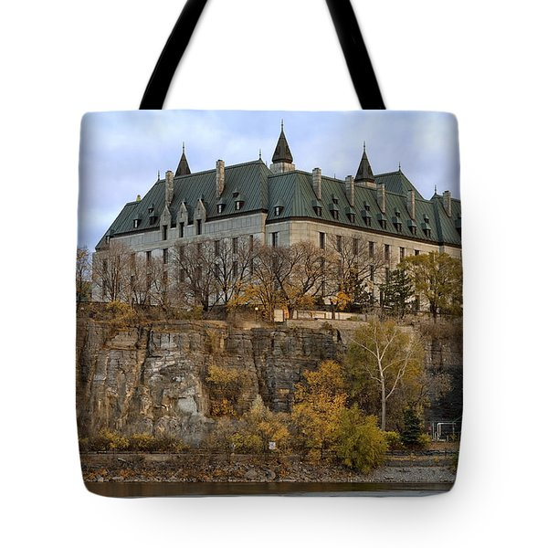 Supreme Court Tote Bag by Eunice Gibb