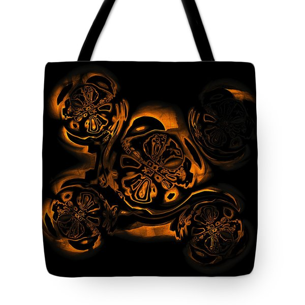 Tote Bag featuring the digital art Suranan Artifact by Judi Suni Hall