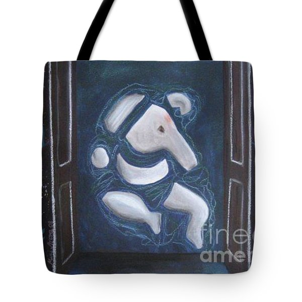 Tote Bag featuring the painting Surananda by Mini Arora